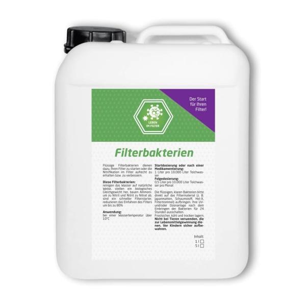 Teich Filterbakterien