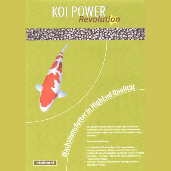 Koi Power Revolution Koifutter