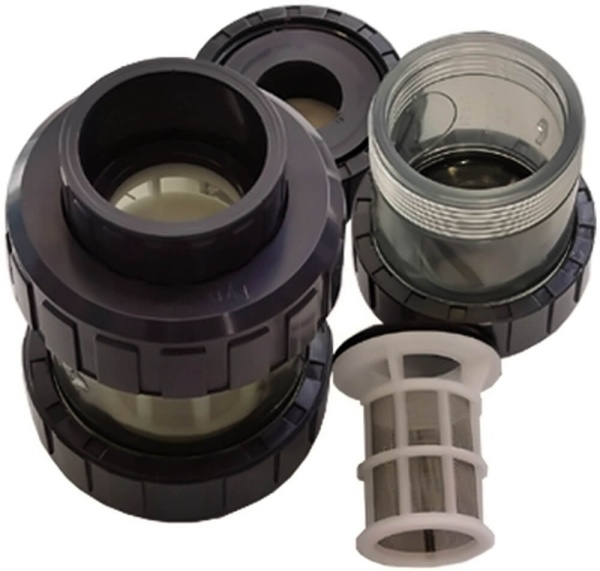 PVC Rohr Schmutzfilter