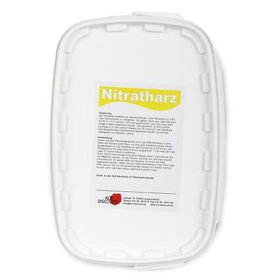 Nitratharz Koiteich Teichwasserpflege