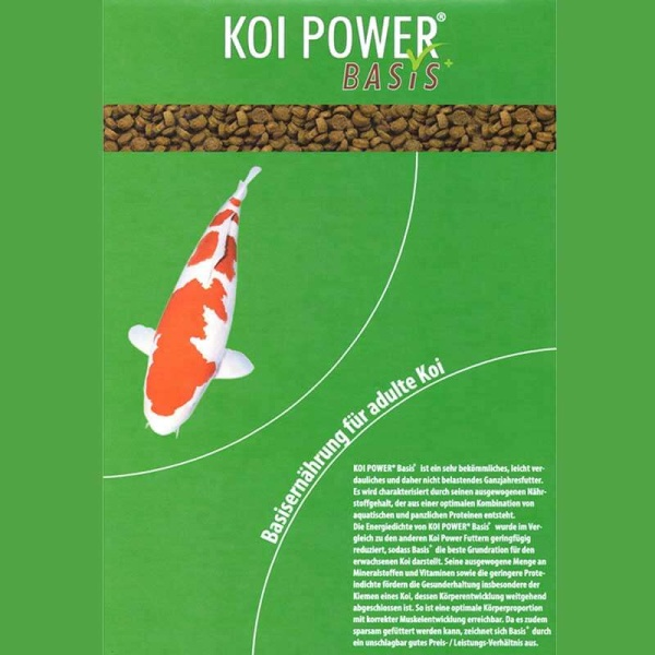 Koi Power Basis+ Koifutter