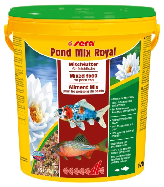 Sera Teich Mix Royal Fischfutter