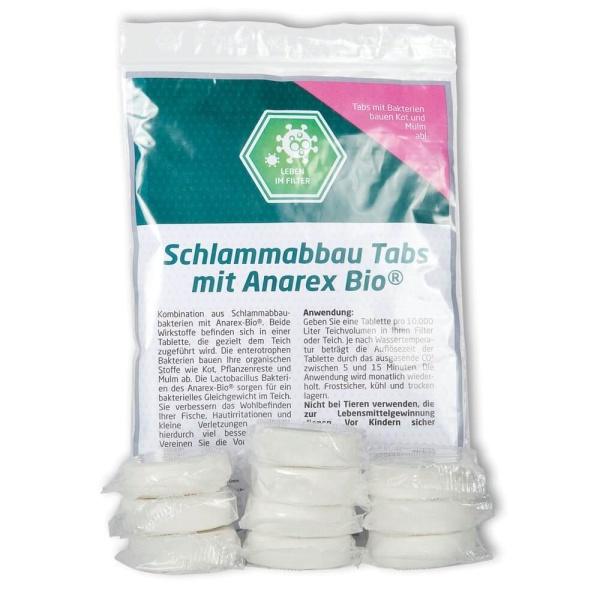 Koiteich Tab Anarex-Bio® und Schlammabbaubakterien