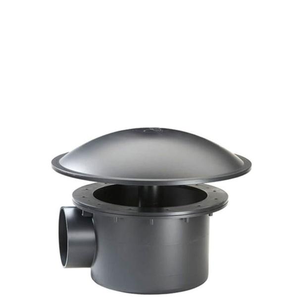 Fiap Teich Bodenablauf aus ABS Kunststoff