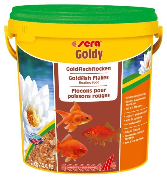 Sera Goldy Goldfischfutter