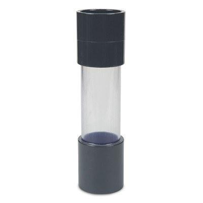 PVC Sichtglas mit Klebemuffe