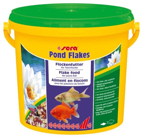 Sera Teich Flockenfutter für Teichfische